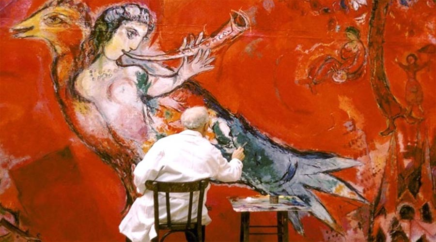 Marc Chagall oeuvres