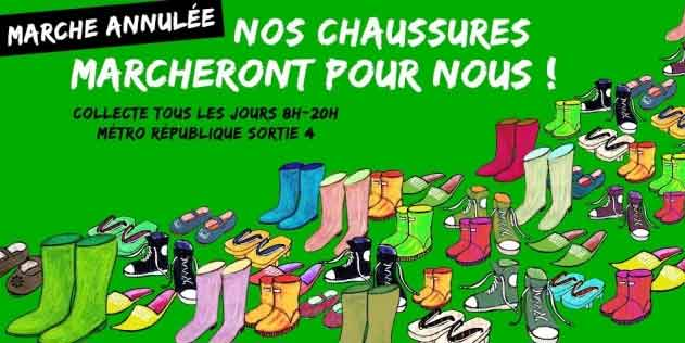 Chaussures - Cop 21 - Avaaz