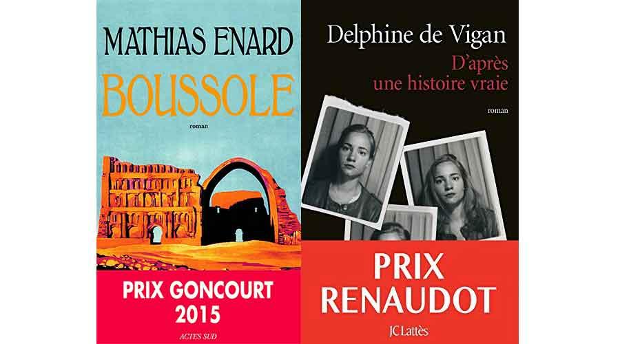 Goncourt 2015 - Renaudot 2015