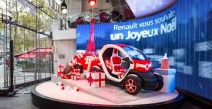 Père Noël - Atelier Renault Champs Elysées