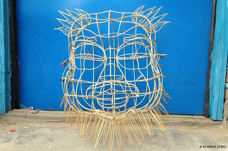 Ai Weiwei au Bon Marché