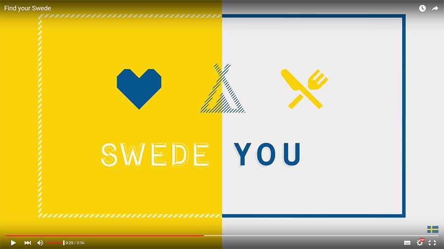 This is Sweden - Find your Swede