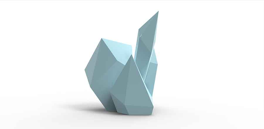 Milene Guermont - Polysensual Concrete artwork