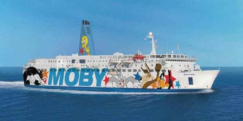 La Corse avec Moby Lines