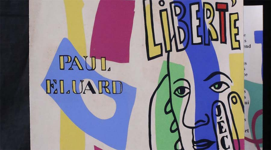 Fernand Léger et Paul Eluard