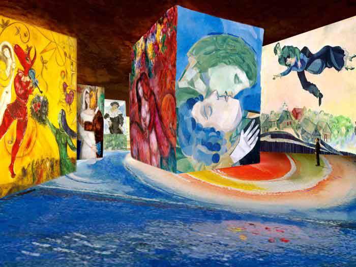Marc Chagall aux Baux de Provence