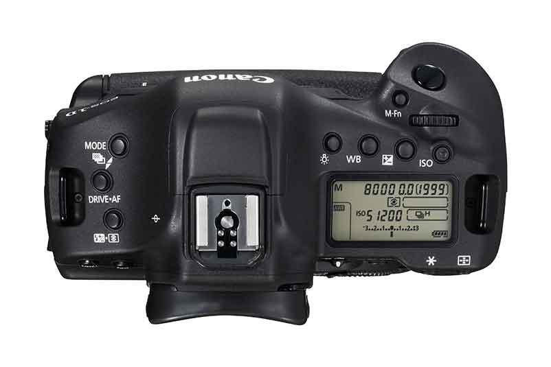Canon EOS-1D-X-Mark-II - Haut