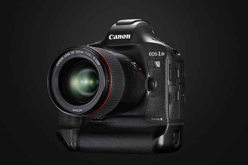 Canon EOS-1D-X-Mark-II -  face optique