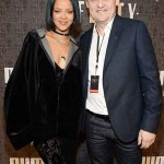 Rihanna and CEO of Puma Bjorn Gulden