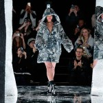 Rihanna walks the runway at the FENTY PUMA by Rihanna AW16 Collection