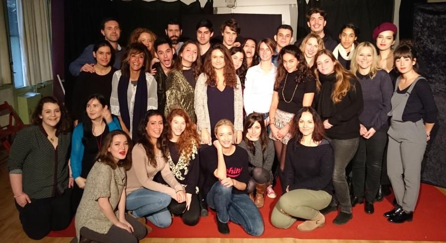 Master class d'Hélène de Fougerolles avec l'Atelier Juliette Moltes