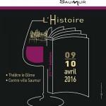Journées nationales du livre et du vin à Saumur