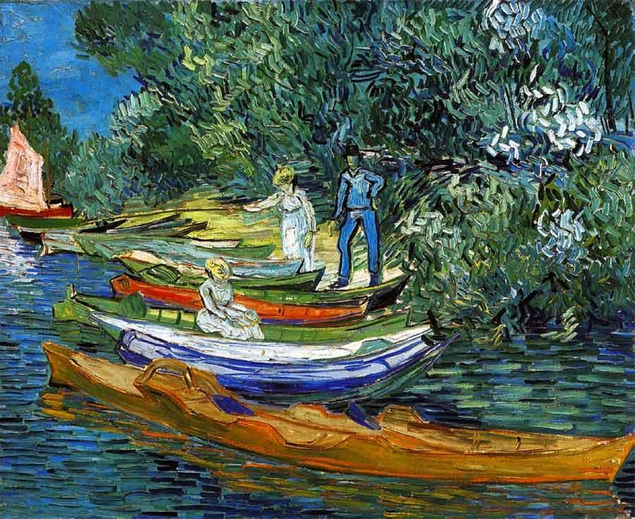 Van Gogh- Vue sur l'Oise