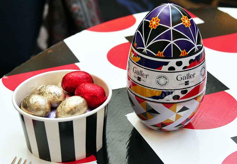 Eggs à la mode de Pâques