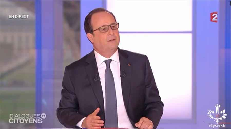 Dialogues citoyens avec Francçois Hollande