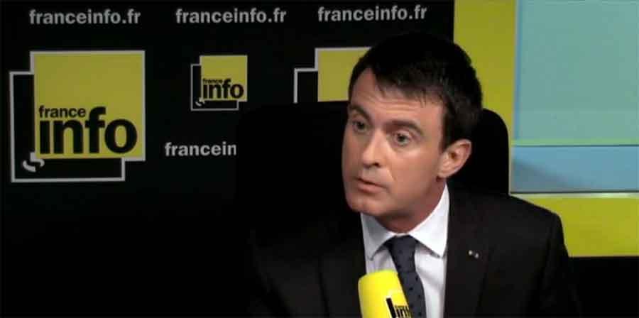 état d'urgence - Manuel Valls