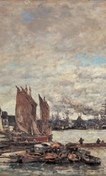 Normandie - Eugène Boudin, Le Havre