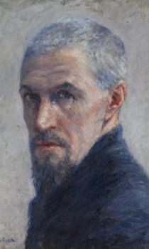 Normandie - Gustave Caillebotte, Portrait de l'artiste