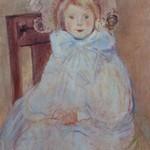 Normandie - Jeanne Forain, La petite fille en bleu