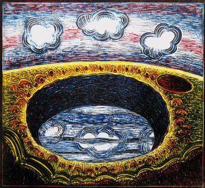 Un trou d'obus Dans son eau A gardé tout le ciel.
