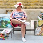 Duane Hanson, Flea Market Lady