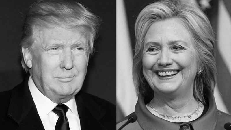 Trump Donald contre Hillary Clinton