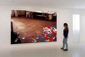 Thomas Demand, NMNM Collection / UBS Art Collection - NMNM Villa Paloma – Project Space, 29.04-28.08.2016, Thomas Demand, Atelier, 2014, UBS Art Collection - Photo : NMNM/Andrea Rossetti, 2016