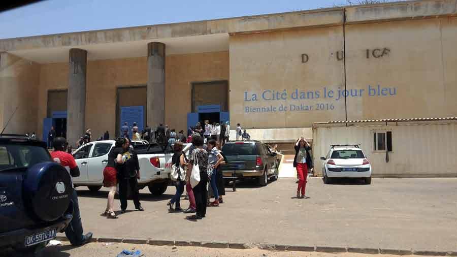 Dak'Art - La Cité Bleu à Dakar