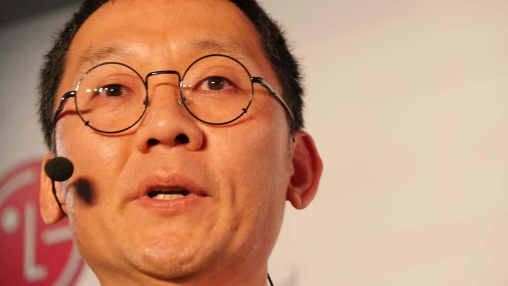 Jinhong Kim (Président LG France)