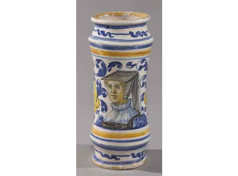 Masséot Abaquesne - Albarello, vers 1545, Rouen, musée des Antiquités © Agence La Belle Vie