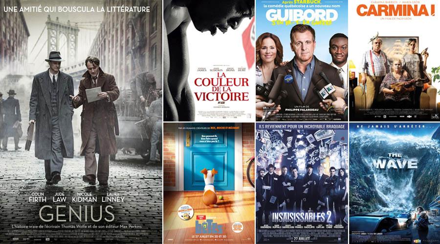 cinéma 27 juillet - 3 aout