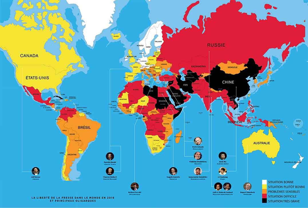 Reporters sans Frontières - pluralité de la presse