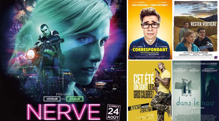 cinéma 24 au 31 aout
