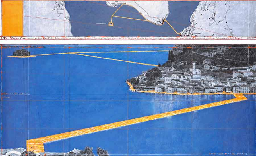 première fois - Christo The Floating Piers
