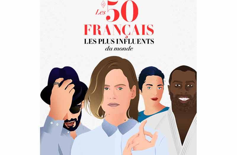 Les 50 Français les plus influents du monde