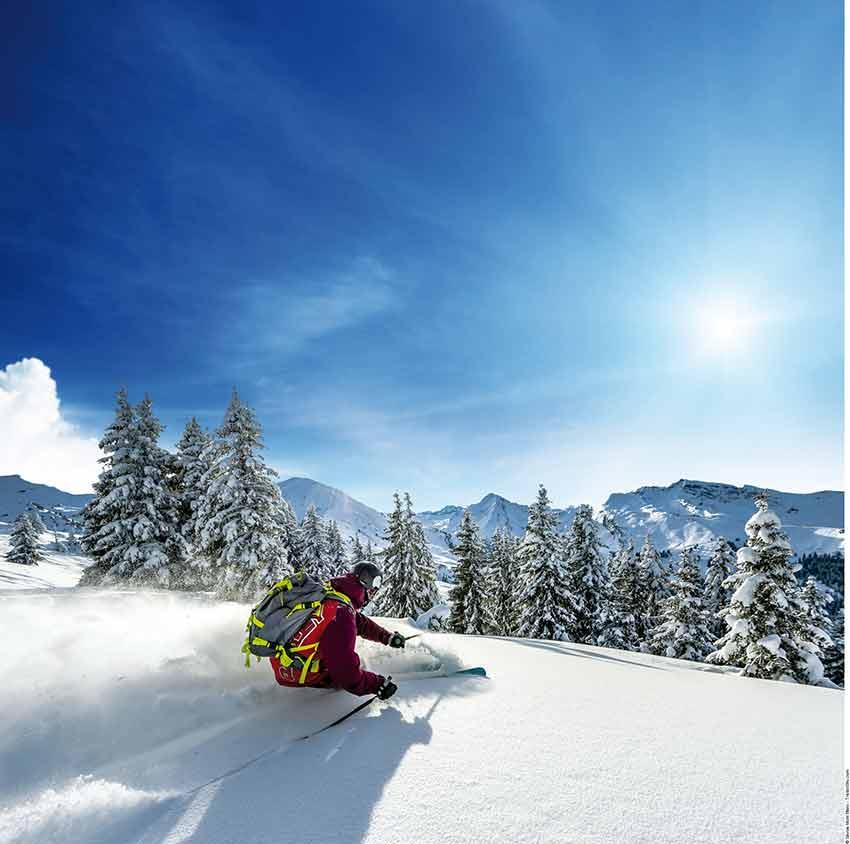 Montagne - Ski à Châtel - Domaine des Portes du Soleil - © Savoie Mont Blanc / TristanShu.com