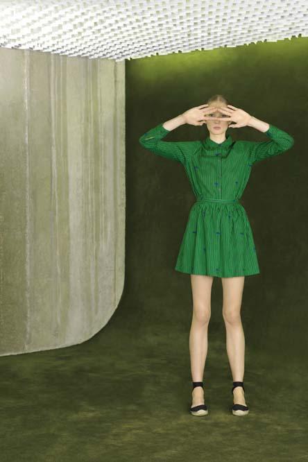 Laetitia Ivanez pour les Galeries Lafayette