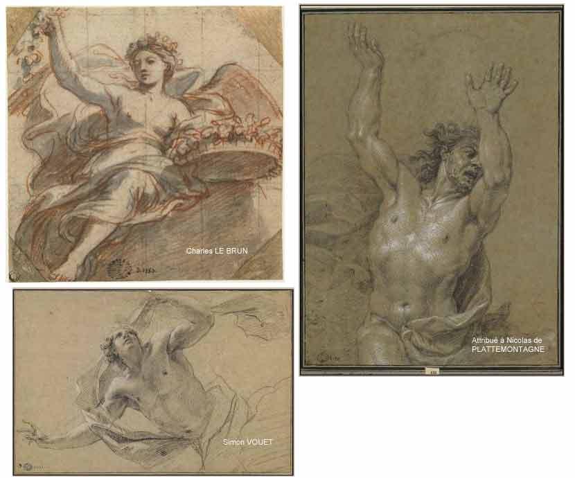Watteau - de Vouet à Watteau. Un siècle de dessin français