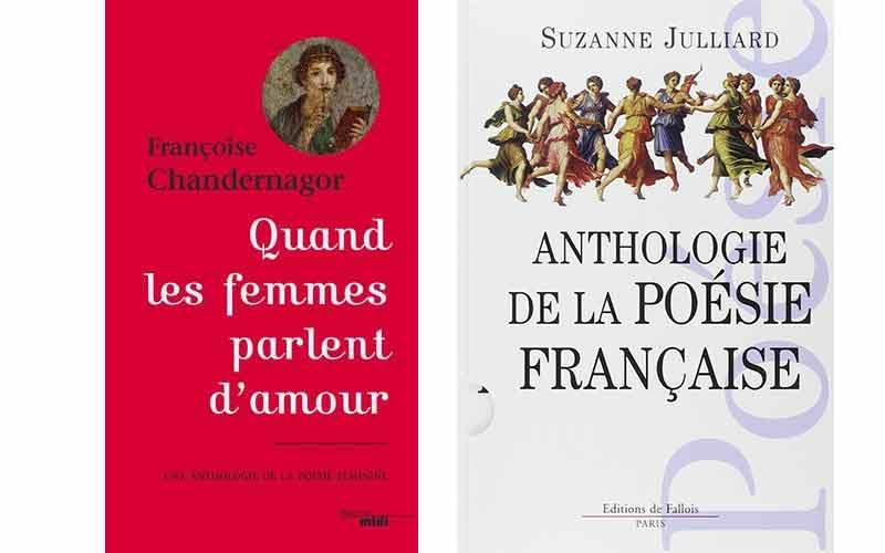 Françoise Chandernagor - Anthologie de la poésie française
