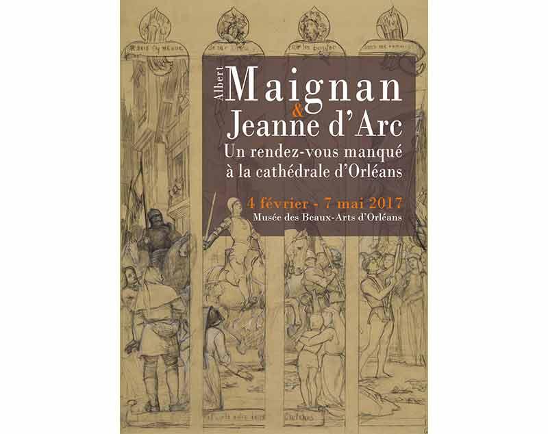 Albert Maignan et Jeanne d'Arc