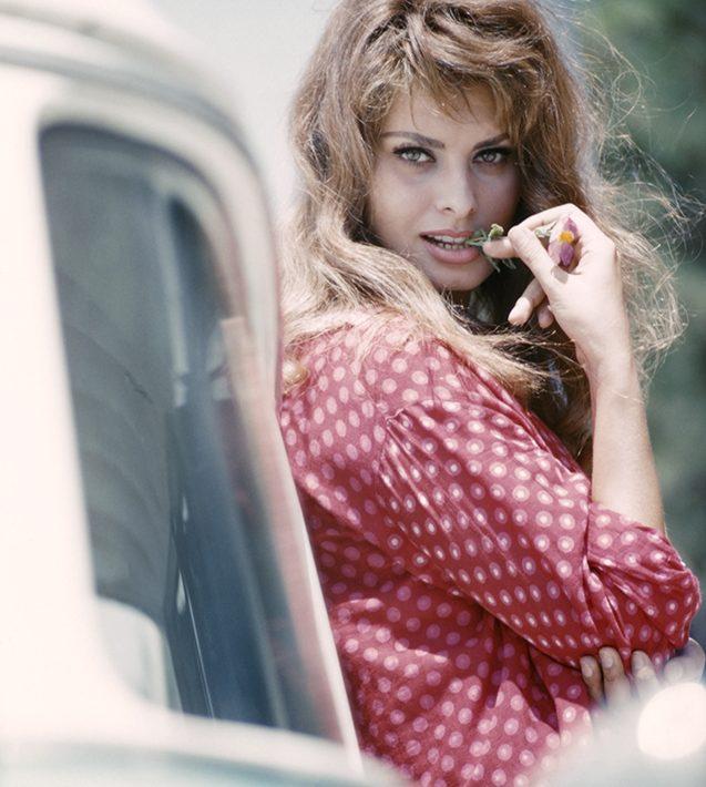 Sofia LOREN Rome 1958