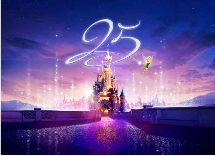 Disneyland Paris - My Sparking 25
