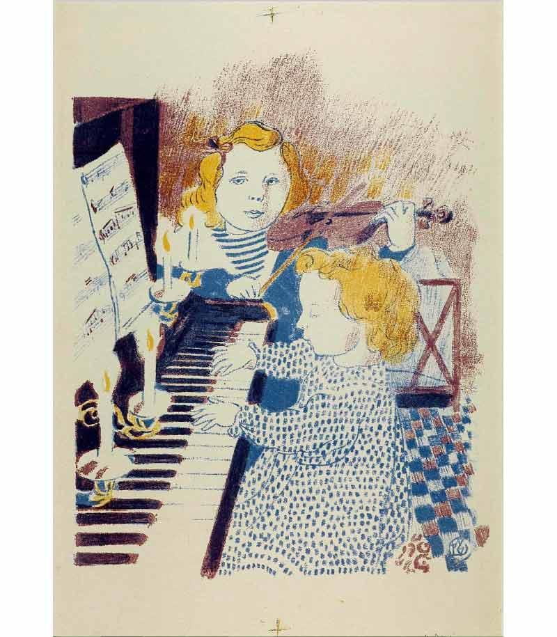 Giverny - Tintamarre ! Instruments de musique dans l'art