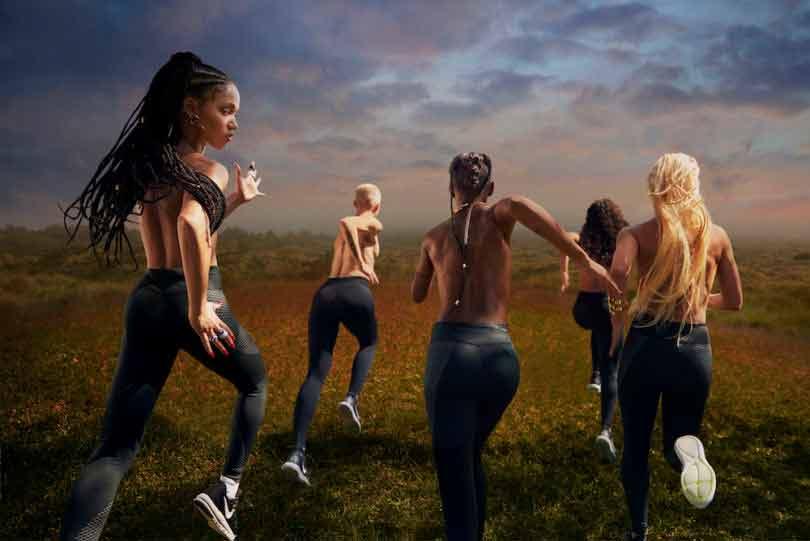 Nike et FKA Twigs