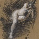 Sara la baigneuse, 1902, Jean Jacques Henner