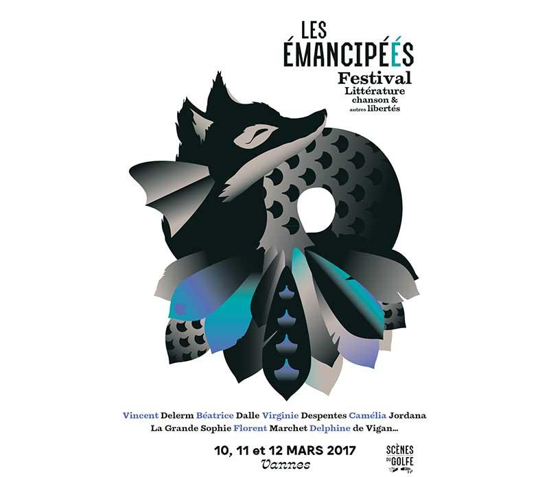 Emancipéés - festival dédié à la littérature, à la chanson et à toutes les libertés