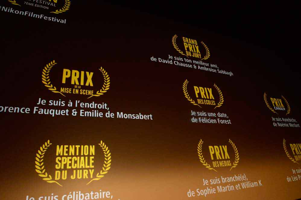Nikon Film Festival 2017 - Podium
