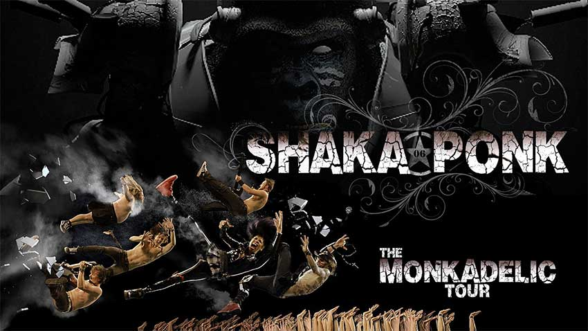 Shaka Ponk - The Monkadelic Tour