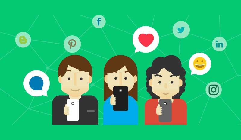 sociaux - les réseaux sociaux