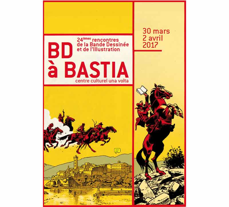 BD à Bastia, un Festival consacré à la Bande dessinée et l'Illustration